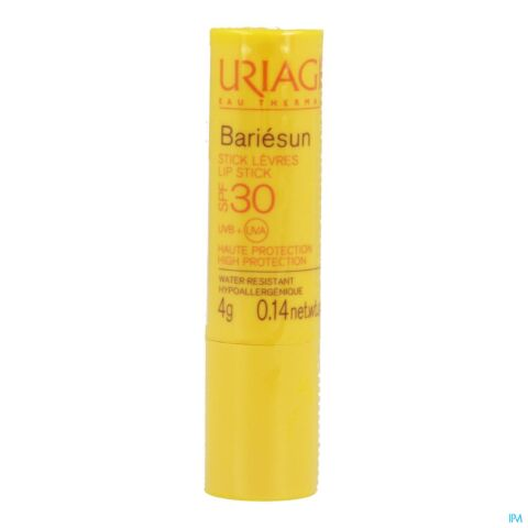 Uriage Bariésun Stick Lèvres Haute Protection IP30 4g